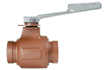 Grooved End Ball Valve